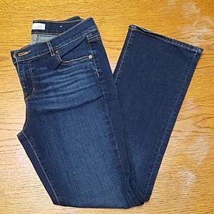 LOFT Modern Boot Jean's medium dark wash